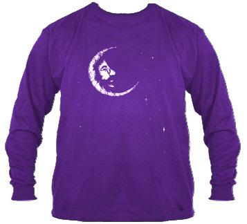 Jerry Garcia - Crescent Moon Long Sleeve T Shirt