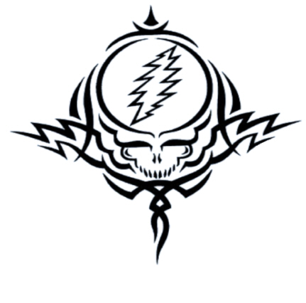 dead tattoo. Grateful Dead - Tattoo Window