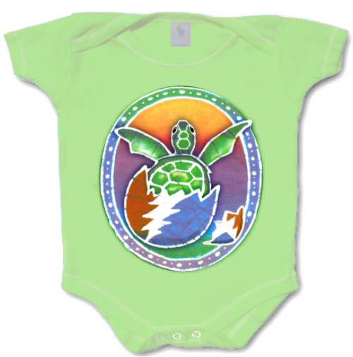 Grateful Dead - Hatching Terrapin Romper