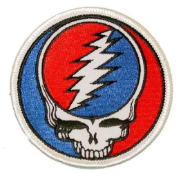 Grateful Dead - Steal Your Face Embroidered Patch