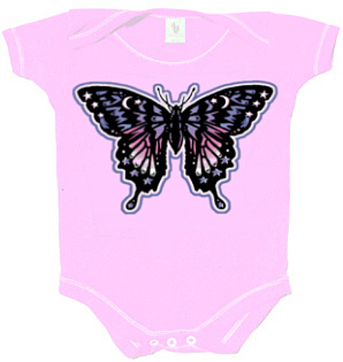 Grateful Dead - Butterfly Infant Romper