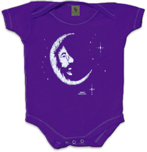 Jerry Garcia - Crescent Moon Infant Romper