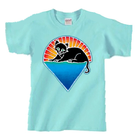 Jerry Garcia - Kitten Under the Star Youth T Shirt