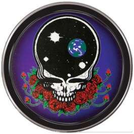 Grateful Dead - Space Your Face Round Stash Tin