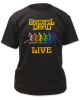 Grateful Dead - Best Of Grateful Dead Live Black T Shirt