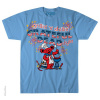 Grateful Dead - Grillin and Chillin Light Blue T Shirt