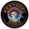 Grateful Dead - Bertha with Roses Round Stash Tin