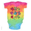 Grateful Dead - Spiral Bears Tie Dye Infant Romper