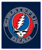 Grateful Dead - Steal Your Face Aztec Fleece Blanket