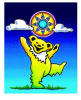 Grateful Dead - Sunny Bear Window Sticker