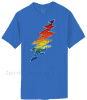 Grateful Dead - Lightning Bolt Dark Blue T shirt