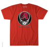 Grateful Dead - Arizona Diamondbacks Steal Your Base Red T Shirt