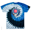 Grateful Dead - Chicago Cubs Steal Your Base Tie Dye T Shirt