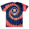 Grateful Dead - Houston Astros Steal Your Base Tie Dye T Shirt
