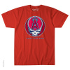 Grateful Dead - Los Angeles Angels Steal Your Base Red T Shirt