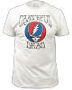 Grateful Dead - Steal Your Face Logo White Fitted T Shirt