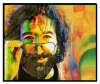 Jerry Garcia - Jerry Art Fleece Blanket