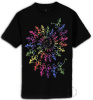 Grateful Dead - Spiral Skeleton Short Sleeve T Shirt