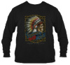 Grateful Dead - Spring Tour '90 Black Long Sleeve T Shirt