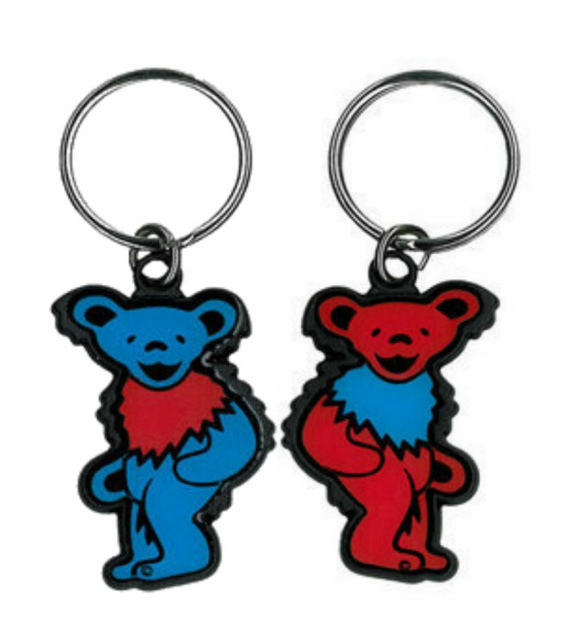 Grateful Dead - Night and Day Steal Your Face Keychain