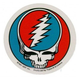 Grateful Dead - Steal Your Face Sticker