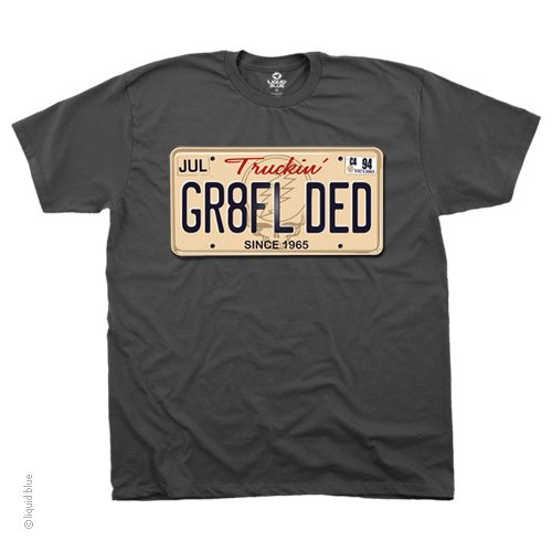 Grateful Dead - Gr8tfl Ded Gray T Shirt