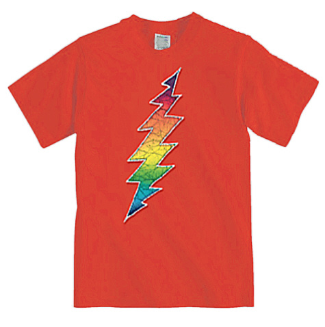 Grateful Dead - Lightning Bolt Youth Size T Shirt