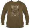 Grateful Dead -Aiko Long Sleeve Brown T-Shirt