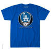 Grateful Dead - Los Angeles Dodgers Steal Your Base Red T Shirt