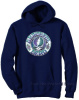 Grateful Dead - Batik SYF Larger Size Blue Hoodie