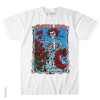 Grateful Dead - Bertha Wheel and Roses White T Shirt