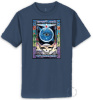 Grateful Dead - Eyes Of The World Blue T Shirt