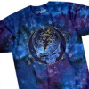 Grateful Dead - Mystical Stealie Blue Tie Dye T Shirt