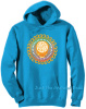 Grateful Dead - Steal Your Face Orange Pullover Blue Hoodie