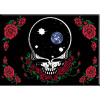Grateful Dead - Space Your Face Roses Magnet
