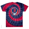 Grateful Dead - Boston Red Sox Steal Your Base Tie Dye T Shirt
