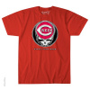 Grateful Dead - Cincinnati Reds Steal Your Base Red T Shirt