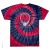Grateful Dead - Los Angeles Angels Steal Your Base Tie Dye T Shirt