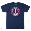 Grateful Dead - Minnesota Twins Steal Your Base Blue T Shirt -OUT OF STOCK-