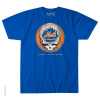 Grateful Dead - New York Mets Steal Your Base Blue T Shirt