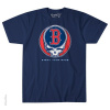 Grateful Dead - Boston Red Sox Steal Your Base Blue T Shirt