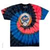 Grateful Dead - New York Mets Steal Your Base Tie Dye T Shirt