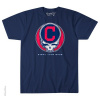 Grateful Dead - Cleveland Indians Steal Your Base Blue T Shirt