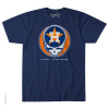 Grateful Dead - Houston Astros Steal Your Base Blue T Shirt