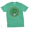 Grateful Dead - Celtic Shamrock Green Heather T Shirt