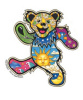 Grateful Dead - Dan Morris Dancing Bear Sticker