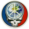 Steal Your Face Peace Sign Sticker