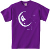 Jerry Garcia - Crescent Moon Youth Size T Shirt