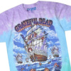 Grateful Dead - Ship Of Fools Tie Dye T Shirt