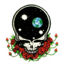 Grateful Dead - Space Your Face Sticker